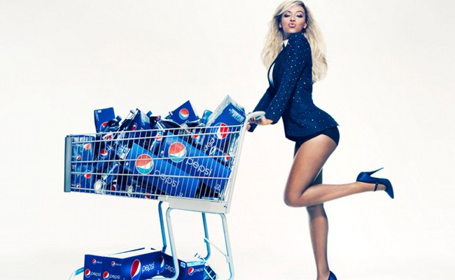 Beyonce is paid $50 million for Pepsi Ad
